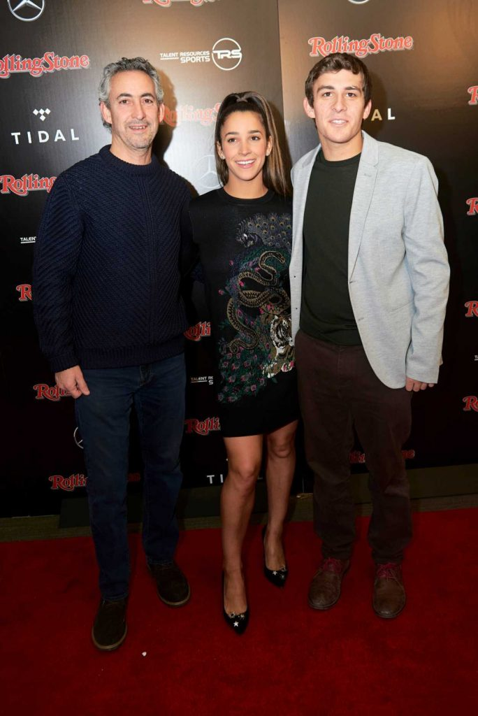 Aly Raisman at the Rolling Stone Live Super Bowl Party in Minneapolis 02/03/2018-3