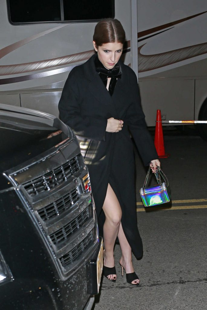 Anna Kendrick Arrives at the Elton John Tribute Concert at Madison Square Garden in NYC 01/30/2018-2