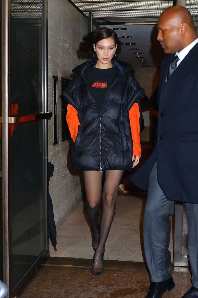 Bella Hadid Heads Out to a Private Event in New York City 02/10/2018-1