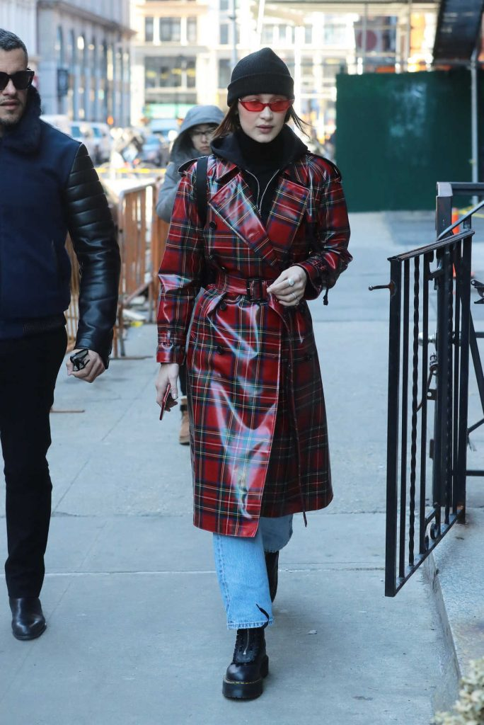 Bella Hadid Was Seen Out in NoHo, New York 01/31/2018-1