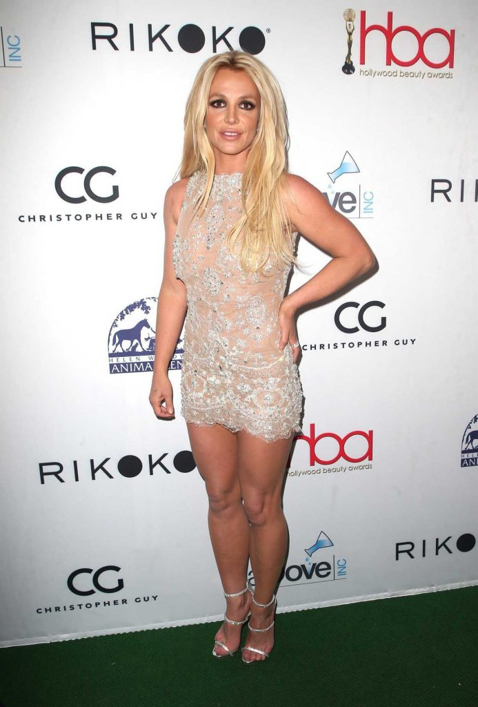 Britney Spears at Hollywood Beauty Awards in Los Angeles 02/25/2018-1
