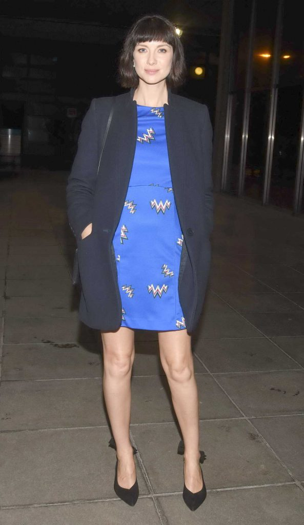 Caitriona Balfe Arrives at The Late Late Show in Dublin 02/16/2018-1