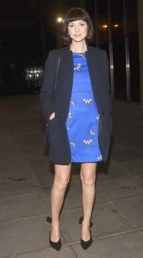 Caitriona Balfe Arrives at The Late Late Show in Dublin 02/16/2018-2