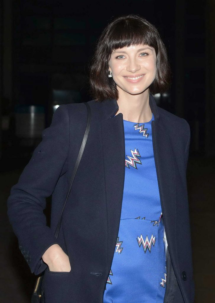 Caitriona Balfe Arrives at The Late Late Show in Dublin 02/16/2018-4