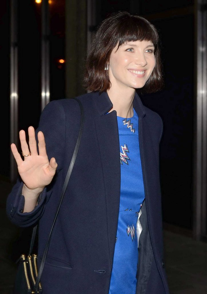 Caitriona Balfe Arrives at The Late Late Show in Dublin 02/16/2018-5