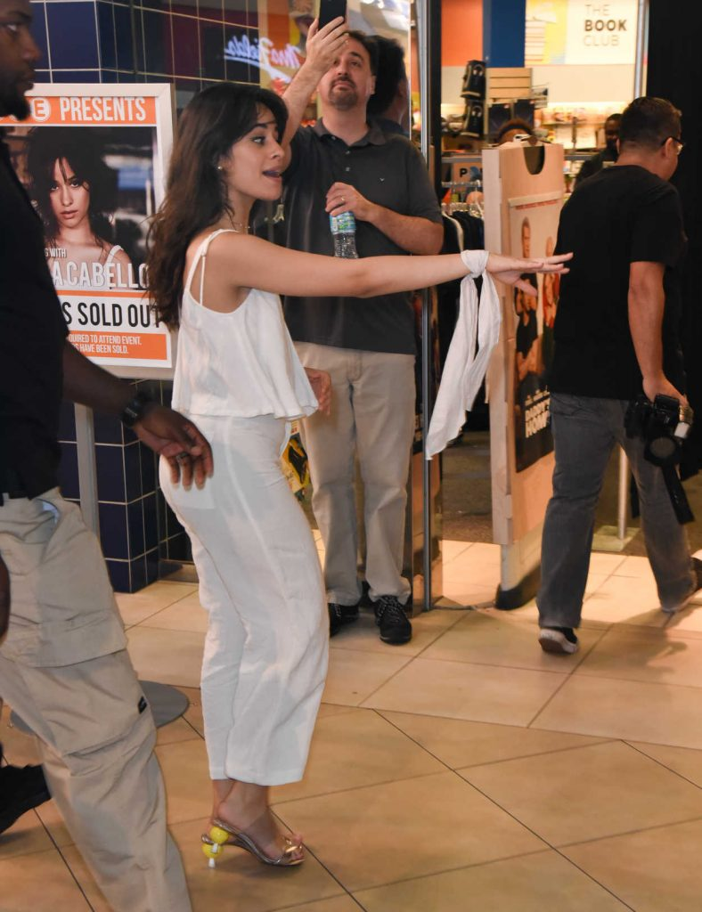 Camila Cabello at The New Hits 97.3 in-Store Album Signing at FYE Coral Square in Coral Springs 02/11/2018-5