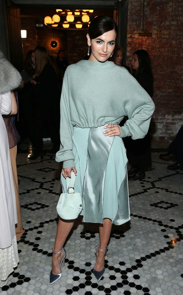 Camilla Belle at the Adeam Fashion Show During New York Fashion Week in New York City 02/08/2018-1