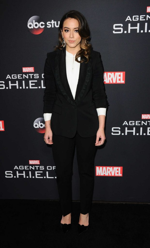 Chloe Bennet at the 100th Episode Celebration of Marvel's Agents of S.H.I.E.L.D. in Hollywood 02/24/2018-1