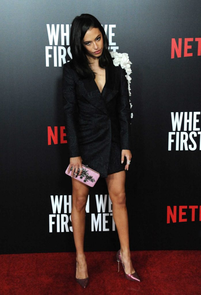 Chloe Bridges at When We First Met Screening in Los Angeles 02/20/2018-3