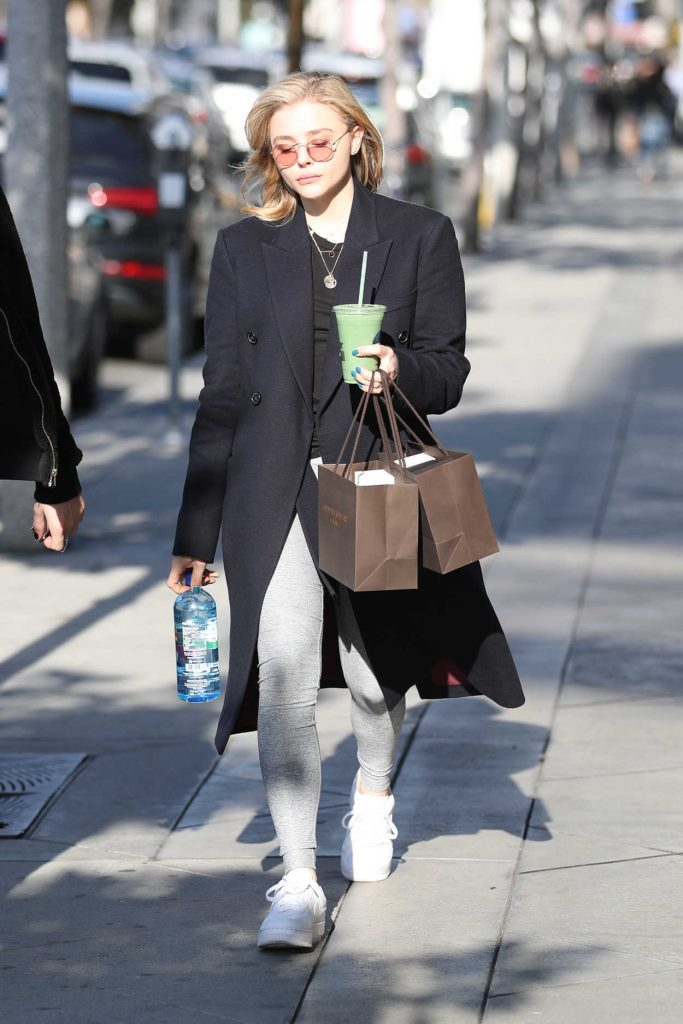 Chloe Moretz Out Shopping in Los Angeles 02/15/2018-1