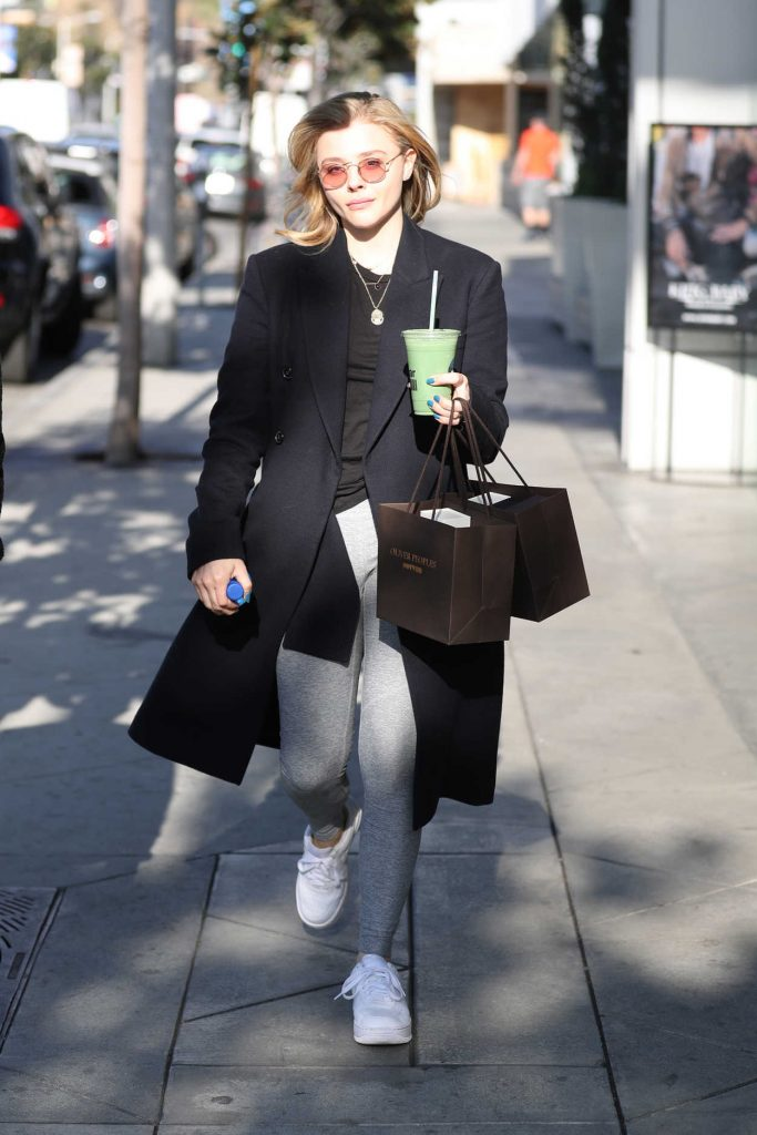 Chloe Moretz Out Shopping in Los Angeles 02/15/2018-2