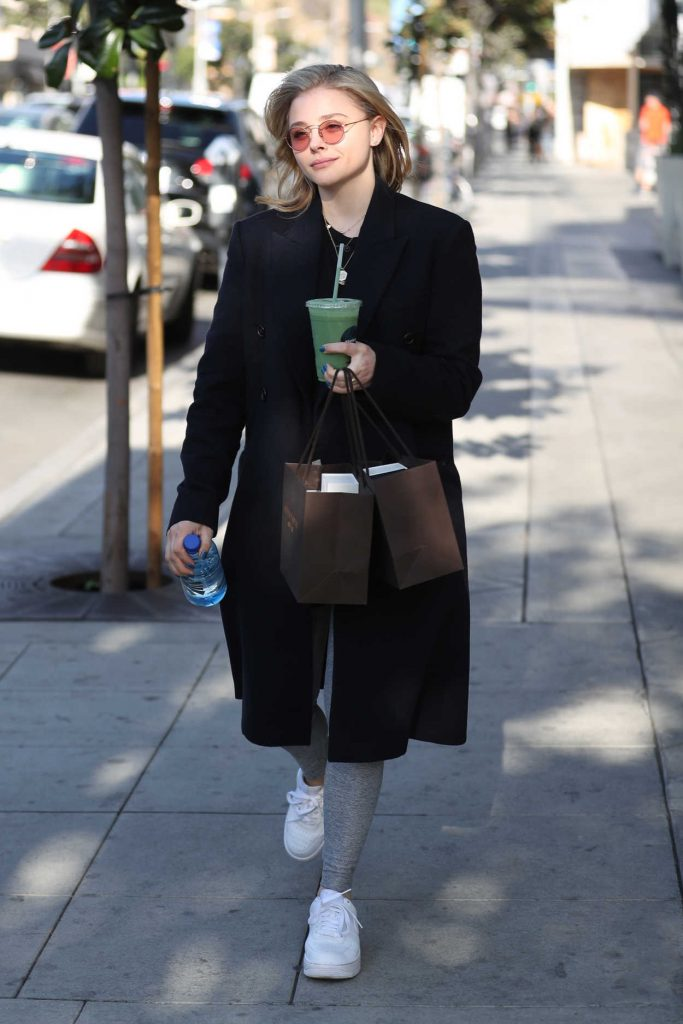Chloe Moretz Out Shopping in Los Angeles 02/15/2018-3