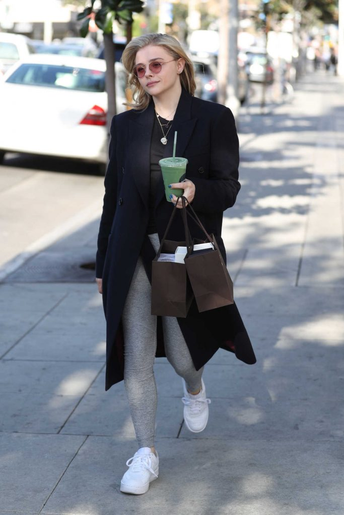 Chloe Moretz Out Shopping in Los Angeles 02/15/2018-4