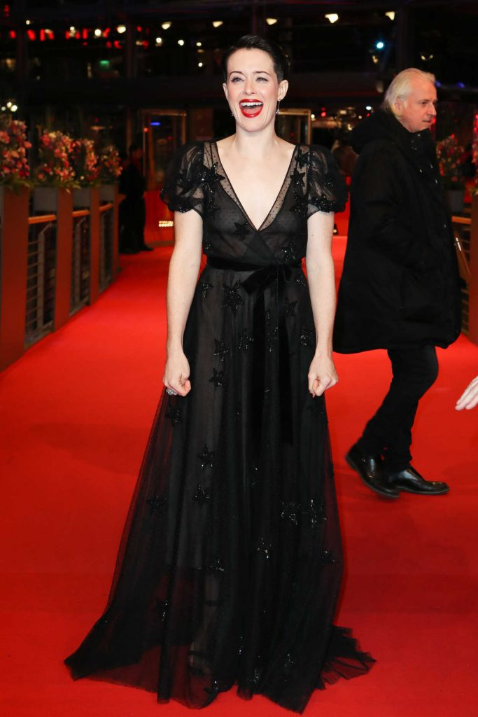Claire Foy at the Unsane Premiere During the 68th Berlin Film Festival in Berlin 02/21/2018-2