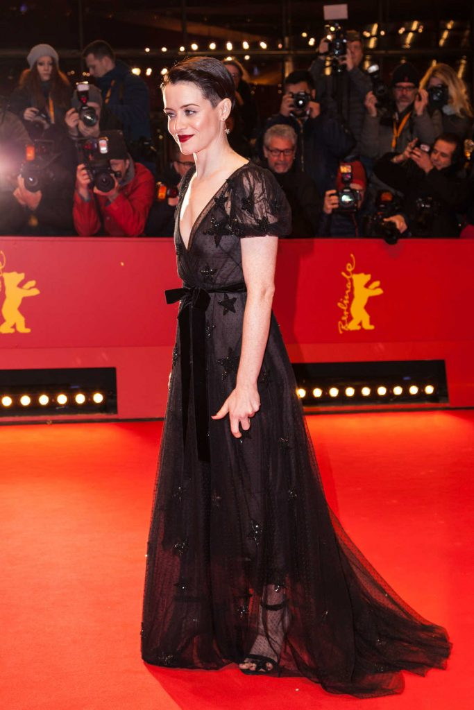 Claire Foy at the Unsane Premiere During the 68th Berlin Film Festival in Berlin 02/21/2018-3
