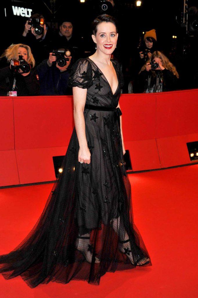 Claire Foy at the Unsane Premiere During the 68th Berlin Film Festival in Berlin 02/21/2018-4