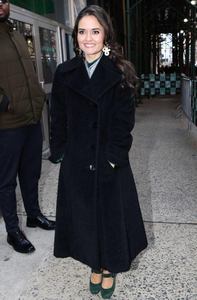 Danica McKellar Arrives at AOL Build Studios in New York 02/13/2018-2