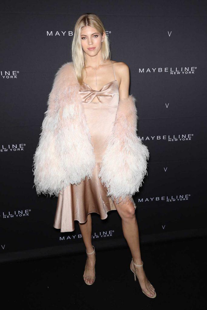 Devon Windsor at the Maybelline New York x V Magazine Party During New York Fashion Week 02/11/2018-1