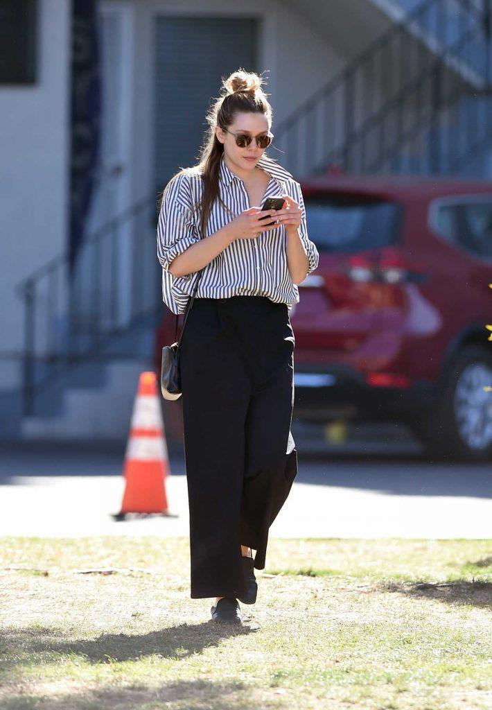 Elizabeth Olsen Was Seen Out in LA 02/08/2018-2