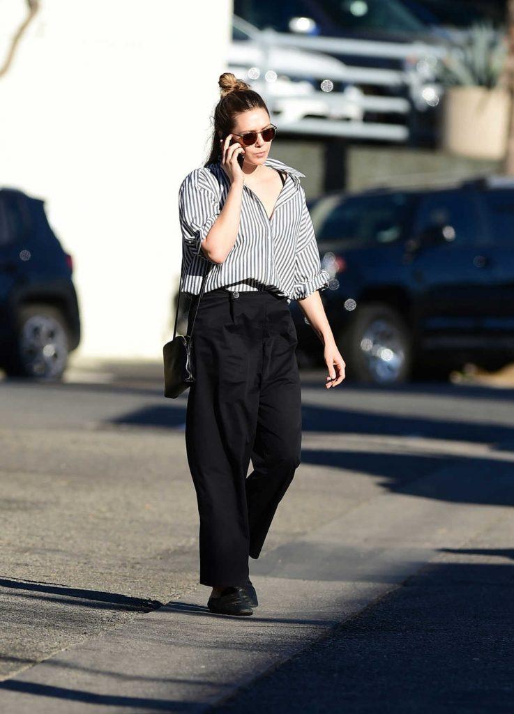 Elizabeth Olsen Was Seen Out in LA 02/08/2018-3