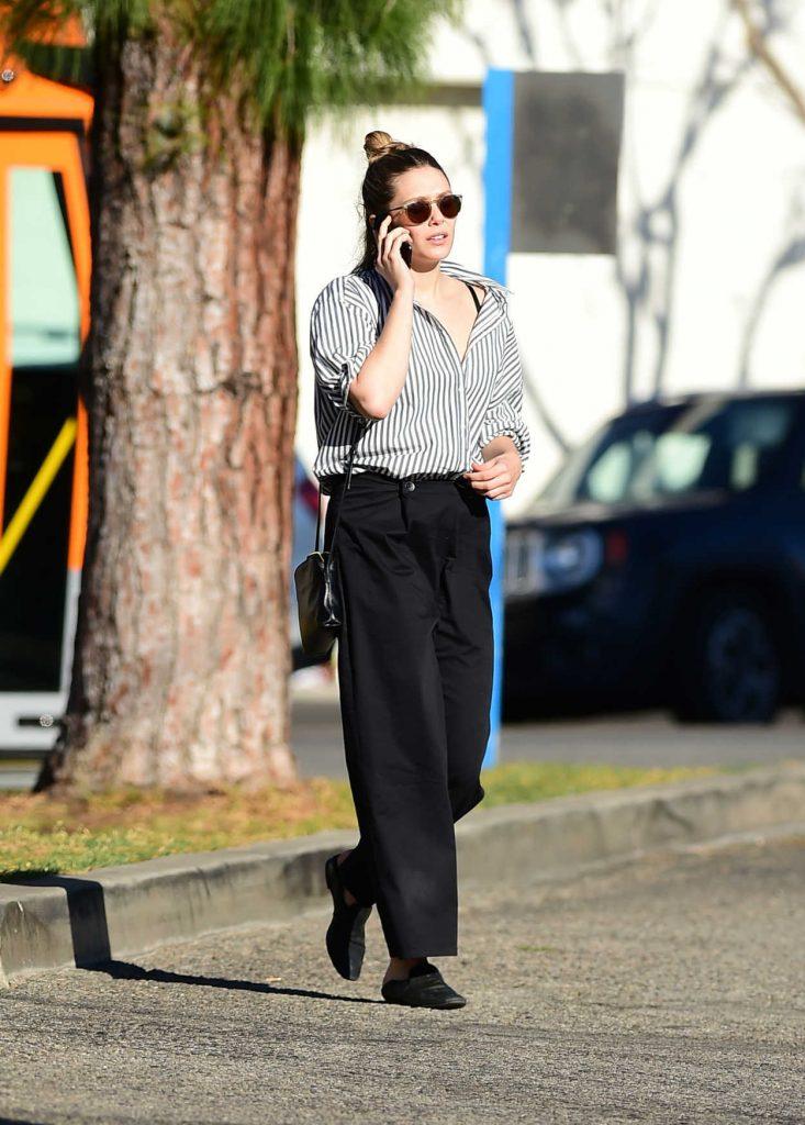 Elizabeth Olsen Was Seen Out in LA 02/08/2018-4