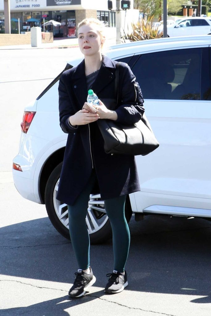Elle Fanning Was Spotted Out in Studio City 02/24/2018-1