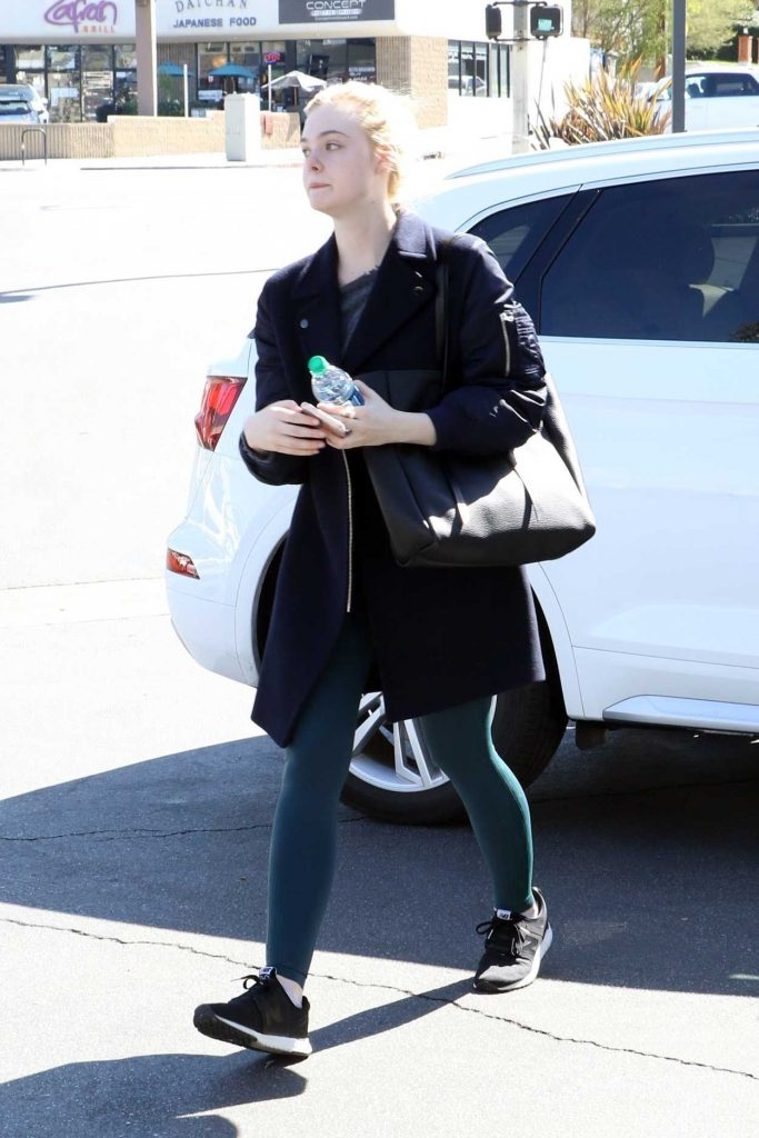 Elle Fanning Was Spotted Out in Studio City 02/24/2018-2