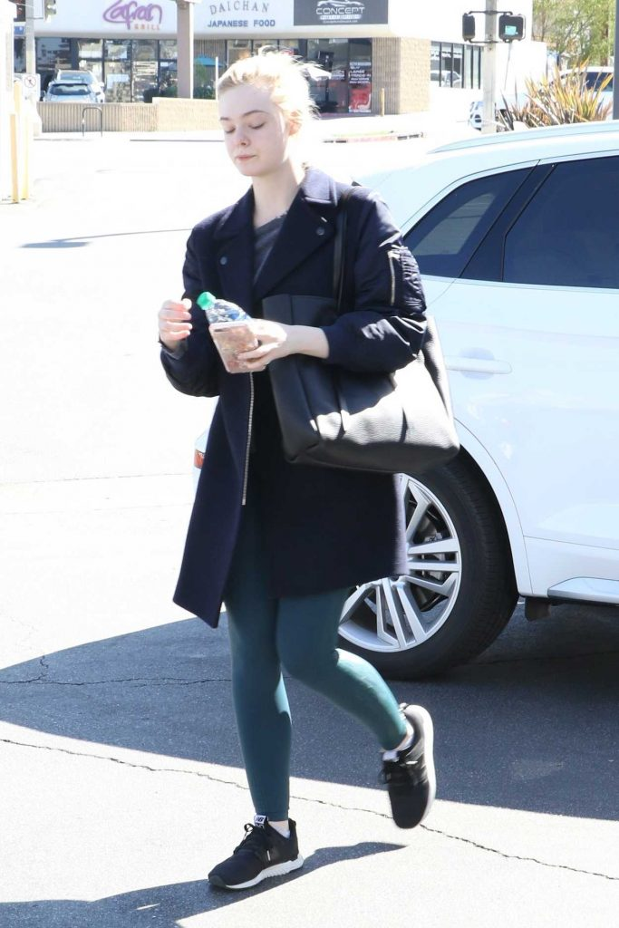 Elle Fanning Was Spotted Out in Studio City 02/24/2018-3