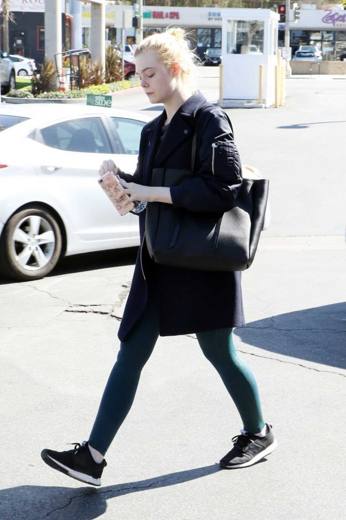 Elle Fanning Was Spotted Out in Studio City 02/24/2018-4