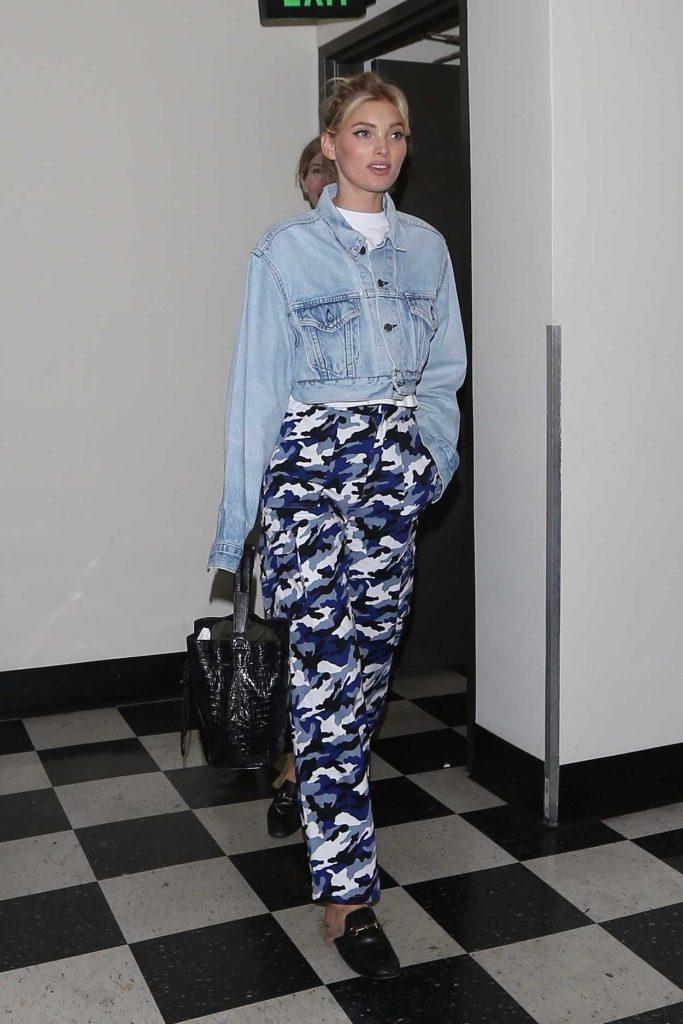 Elsa Hosk Out for Dinner in West Hollywood 01/31/2018-1