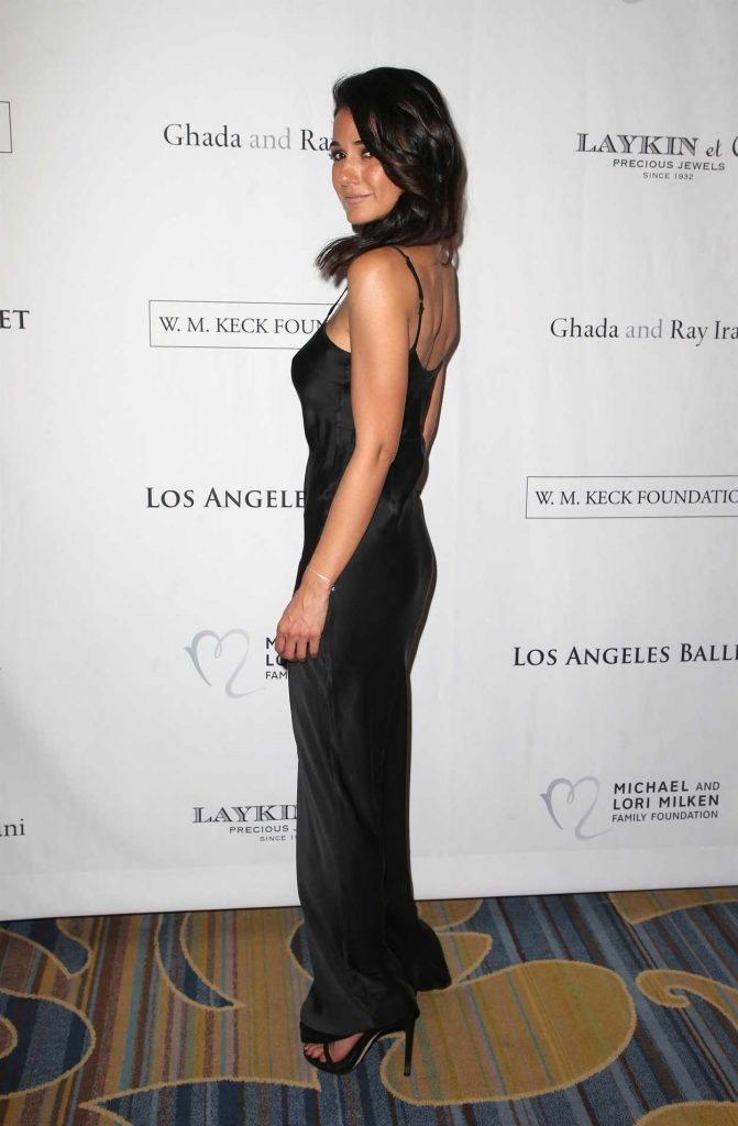 Emmanuelle Chriqui at the 12th Annual Los Angeles Ballet Gala in Beverly Hills 02/24/2018-4