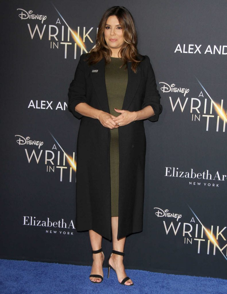 Eva Longoria at A Wrinkle in Time Premiere in Los Angeles 02/26/2018-1