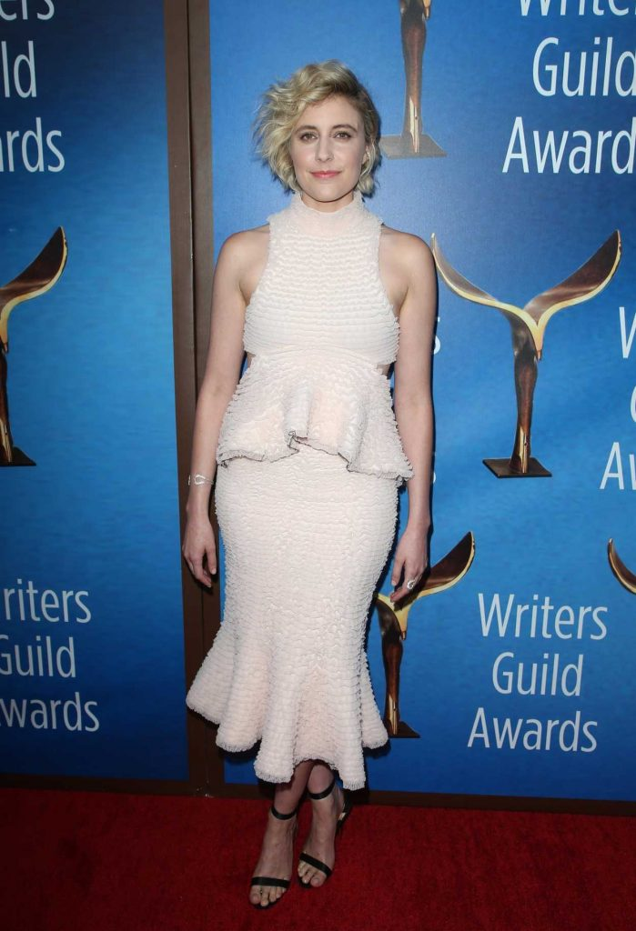 Greta Gerwig at 2018 Writers Guild Awards LA Ceremony in Beverly Hills 02/11/2018-2