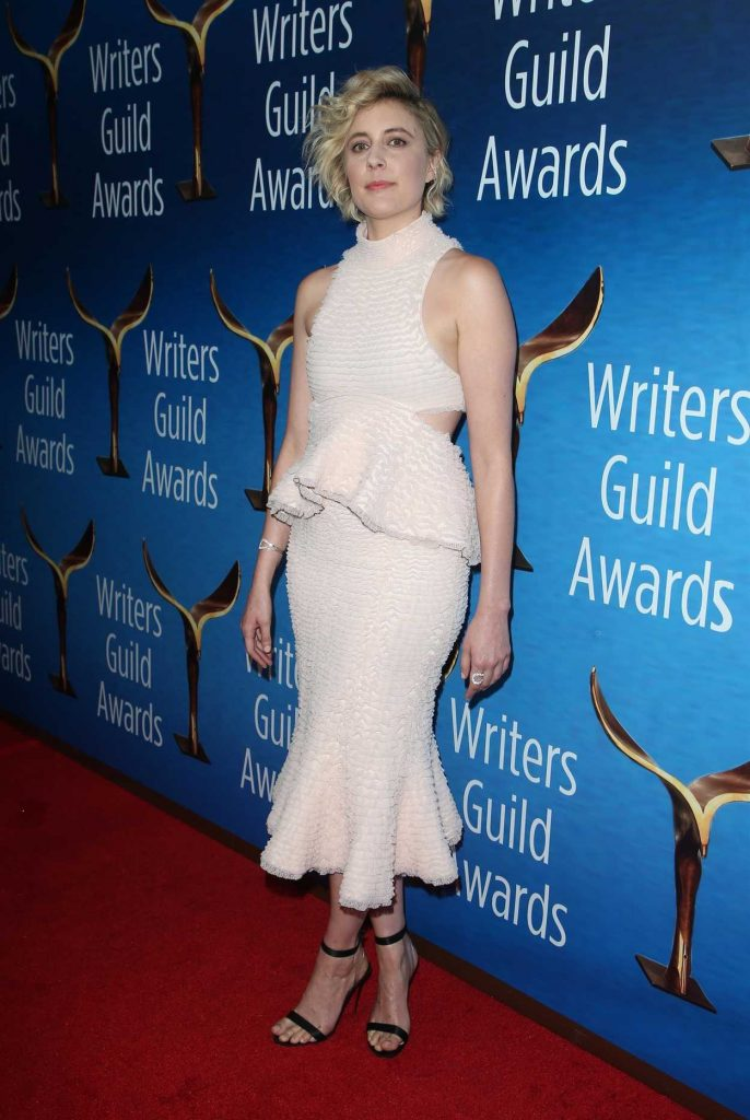 Greta Gerwig at 2018 Writers Guild Awards LA Ceremony in Beverly Hills 02/11/2018-3