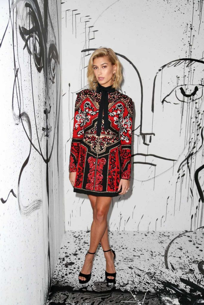Hailey Baldwin at the Dior Collection Launch Party During New York Fashion Week 02/06/2018-1