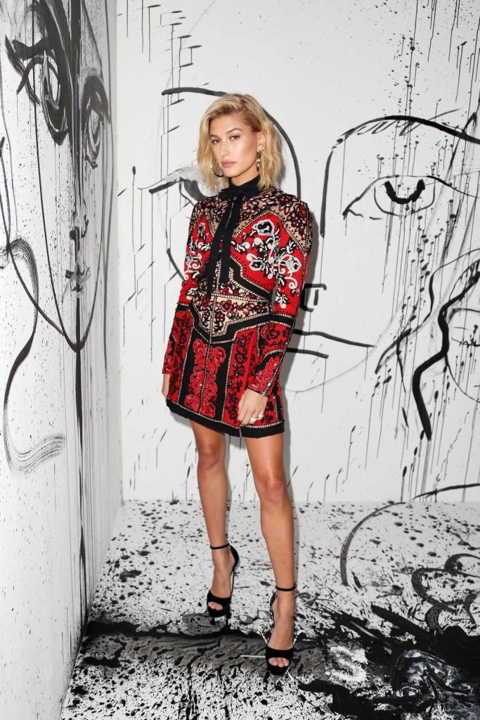 Hailey Baldwin at the Dior Collection Launch Party During New York Fashion Week 02/06/2018-2