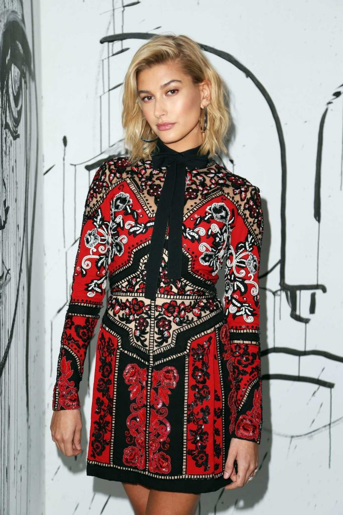 Hailey Baldwin at the Dior Collection Launch Party During New York Fashion Week 02/06/2018-3