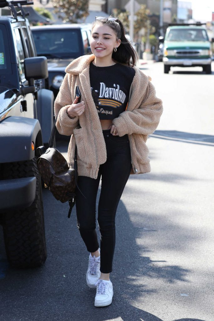 Madison Beer Goes Shopping on the Sunset Strip in LA 02/22/2018-1