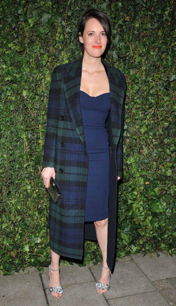 Phoebe Waller-Bridge at 2018 Charles Finch and Chanel Pre-Bafta Party at Mark's Club Mayfair in London 02/17/2018-1