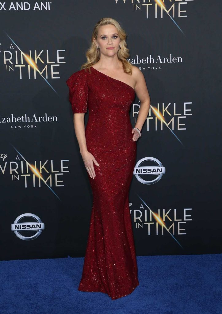 Reese Witherspoon at A Wrinkle in Time Premiere in Los Angeles 02/26/2018-1