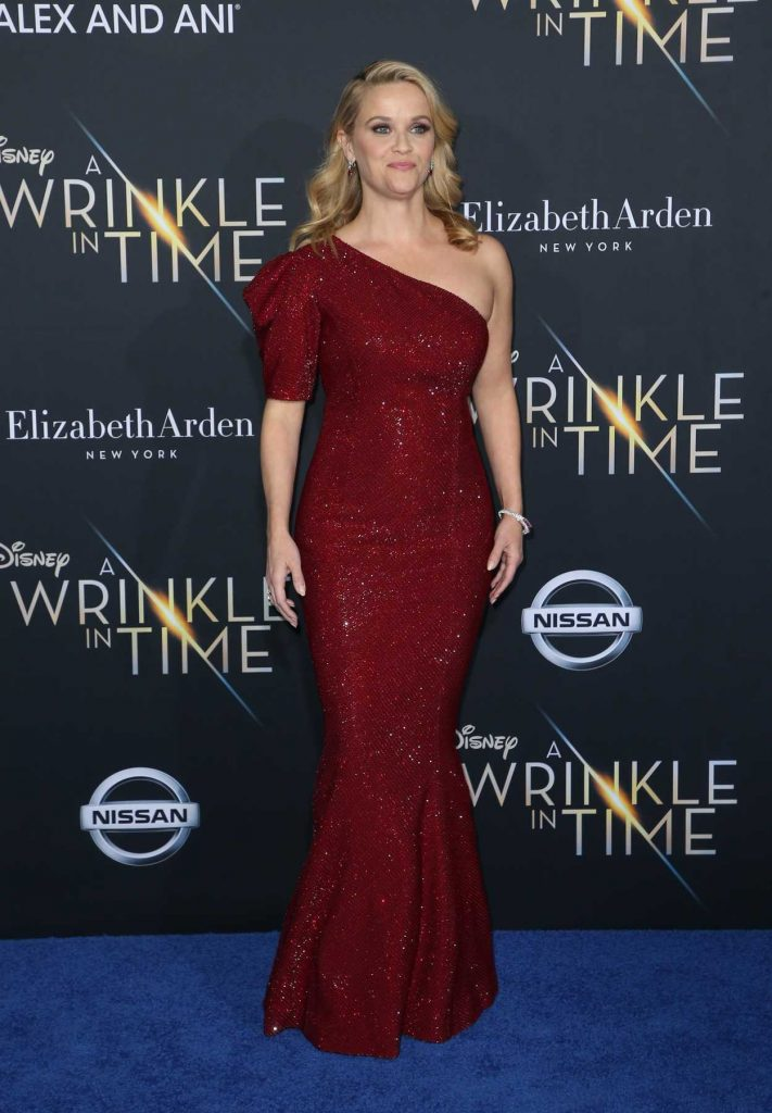 Reese Witherspoon at A Wrinkle in Time Premiere in Los Angeles 02/26/2018-2