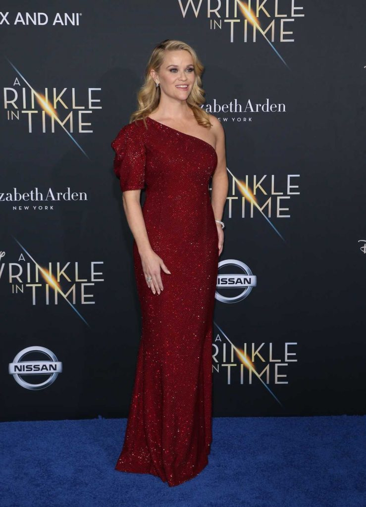 Reese Witherspoon at A Wrinkle in Time Premiere in Los Angeles 02/26/2018-3