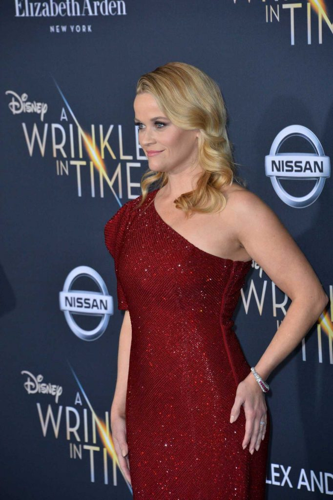 Reese Witherspoon at A Wrinkle in Time Premiere in Los Angeles 02/26/2018-5