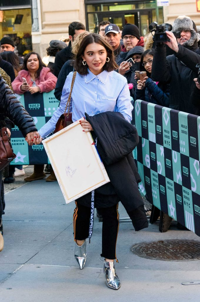 Rowan Blanchard Arrives at AOL Build Speaker Series in New York City 02/12/2018-2