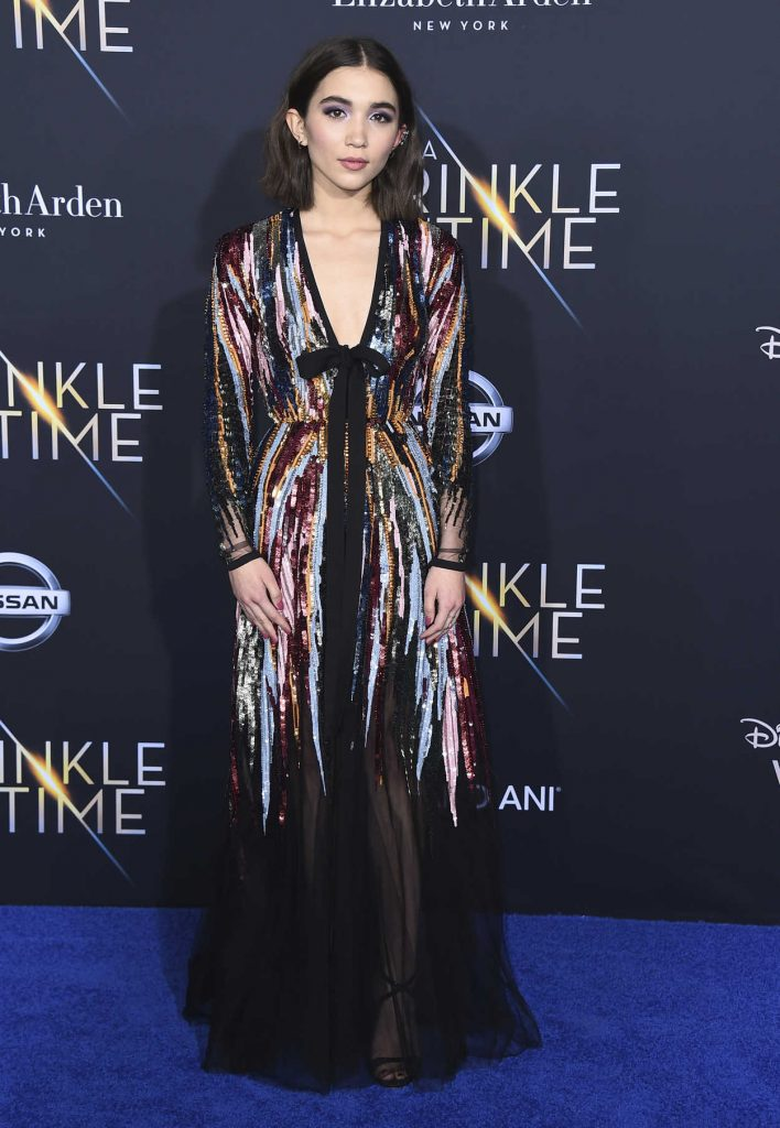 Blanchard at A Wrinkle in Time Premiere in Los Angeles 02/26/2018-1