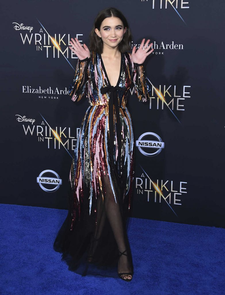 Rowan Blanchard at A Wrinkle in Time Premiere in Los Angeles 02/26/2018-2