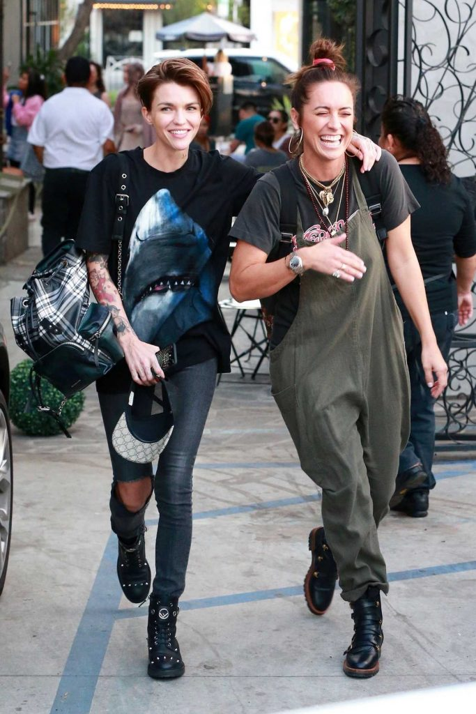 Ruby Rose Leaves Nine Zero One Salon in West Hollywood 02/09/2018-1
