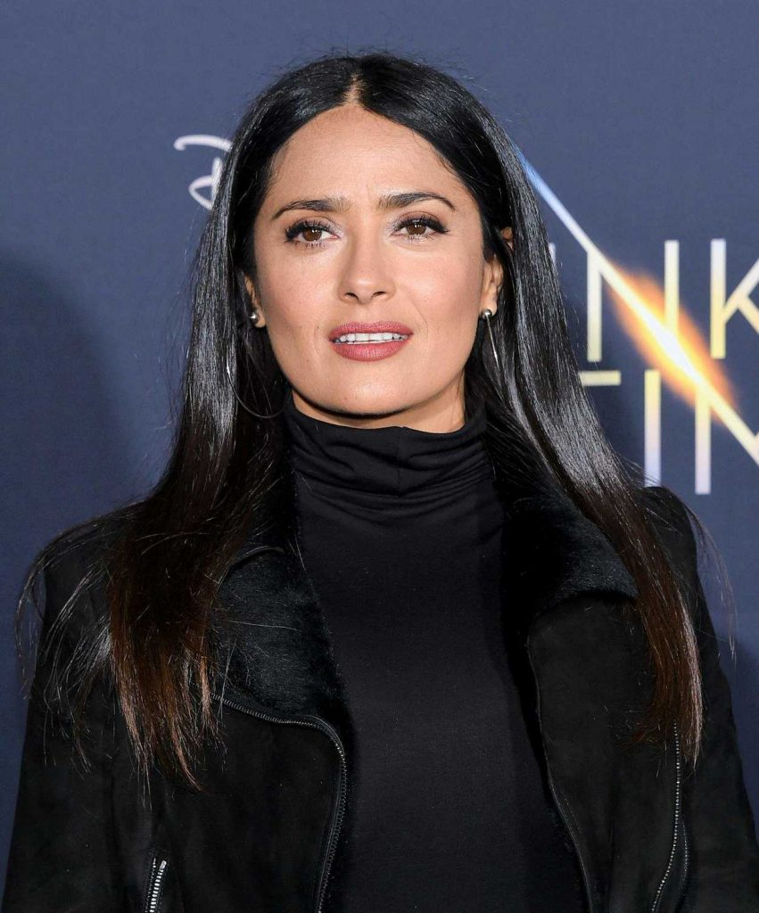 Salma Hayek at A Wrinkle in Time Premiere in Los Angeles 02/26/2018-5