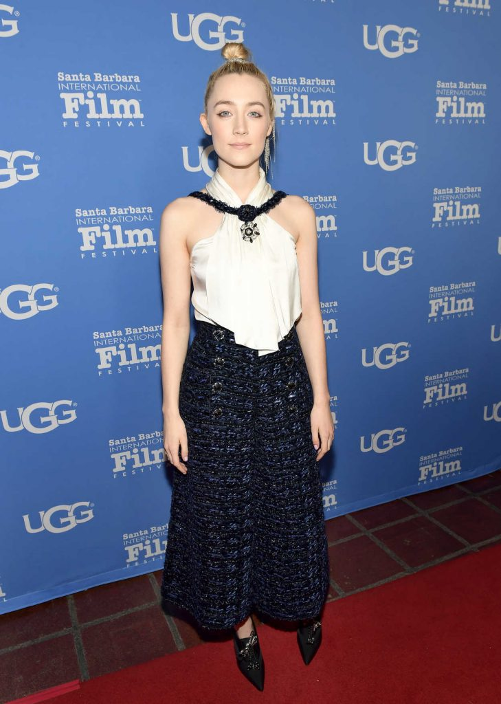 Saoirse Ronan Receives the Santa Barbara Award at the 33rd Annual Santa Barbara International Film Festival in Santa Barbara 02/04/2018-1
