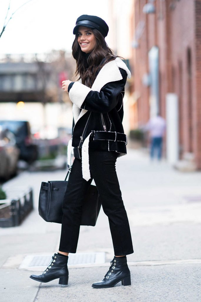 Sara Sampaio Was Seen in Chelsea During New York Fashion Week in New York City 02/12/2018-2